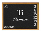 Thallium. — Stock Photo