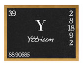 Yttrium. — Stock Photo