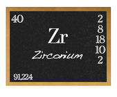 Zirconium. — Stock Photo