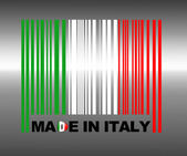 Made in Italy. — Stock Photo
