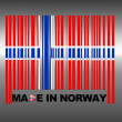 Made in Norway. - Stock Photo