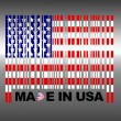Made in USA. - Stock Photo