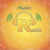 Rock logo. — Stock Photo