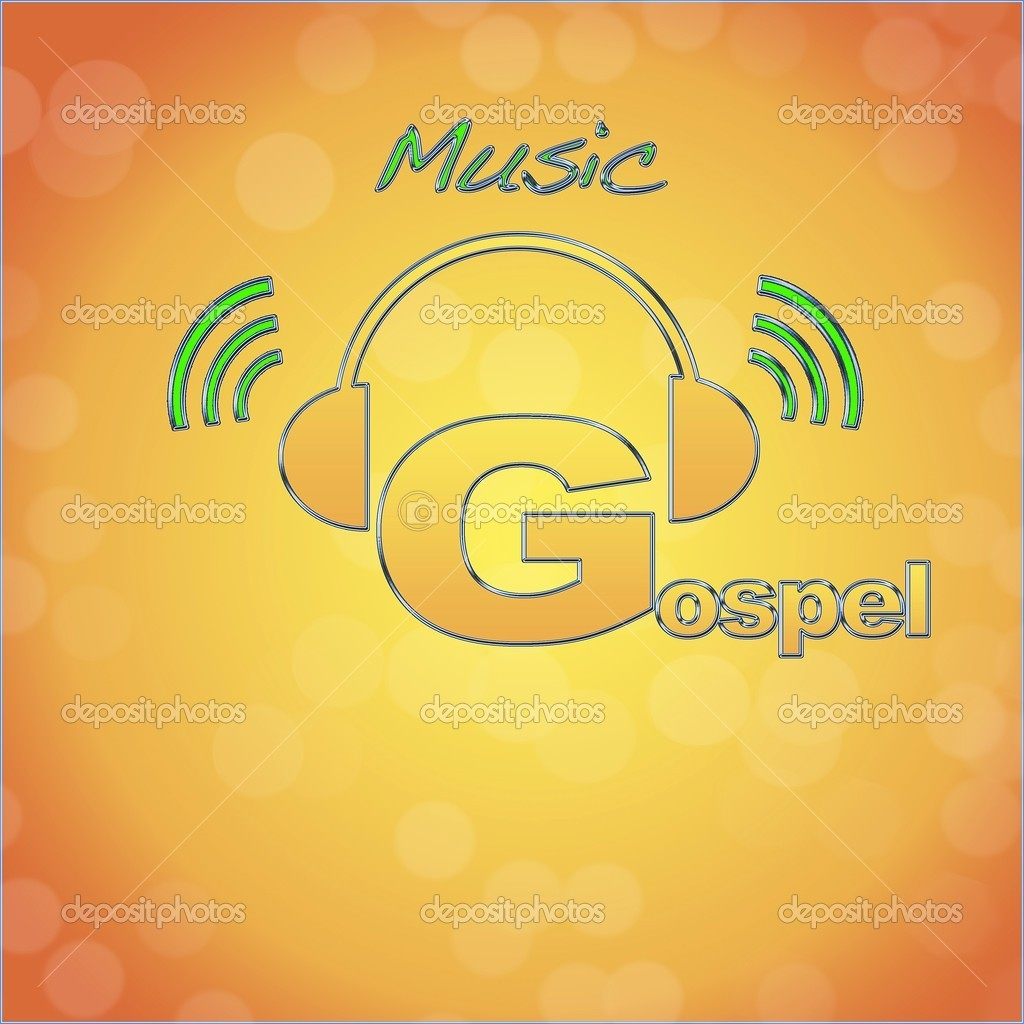 Gospel, music logo.  Stock Photo #10097751