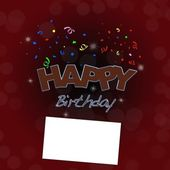 Happy birthday. — Foto Stock