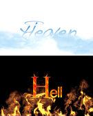 Heaven, hell. — Stock Photo