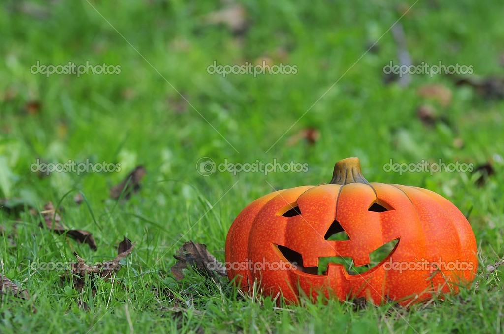 Halloween pumpkin. — Stock Photo #10476630