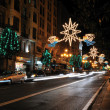 Christmas lighting. — Foto de Stock