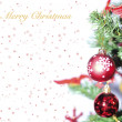 Christmas greeting — Stock fotografie