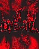 Devil in red. — Stock Photo