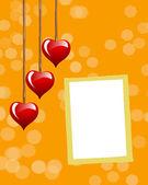 Cornice fotografica San Valentino. — Foto Stock