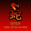 Year of the snake. — Foto Stock