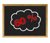 60 % discount. — Stock Photo