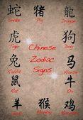 Chinese zodiac. — Stock Photo