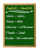 Dictionary, english - deutsh. — Stock Photo