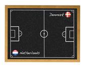 Denmark-Netherlands. — Stock Photo