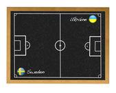 Ukraine-Sweden. — Stock Photo