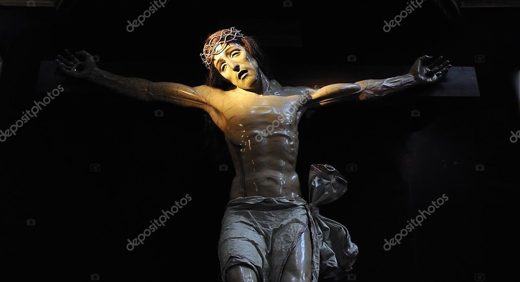 Christ crucified.  Stock Photo #9825561