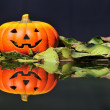 Halloween lantern. - Stock Photo