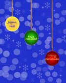Christmas tree balls. — Stock Photo