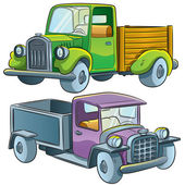 Truck Collection — Stock Vector