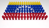 Venezuela parade — Stok fotoğraf