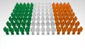 Parata irlandese — Foto Stock
