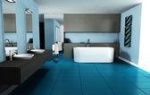 Interior Design Bathroom — Stock Photo