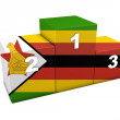 Zimbabwean Podium — Stock Photo