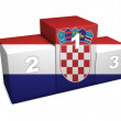Stock Photo: CroatiPodium