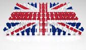 Défilé britannique — Photo