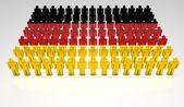 German Parade — Stock Photo