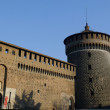 Sforzesco Castle — Stock Photo #9889479