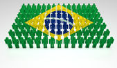 Brazilian Parade — Stock Photo