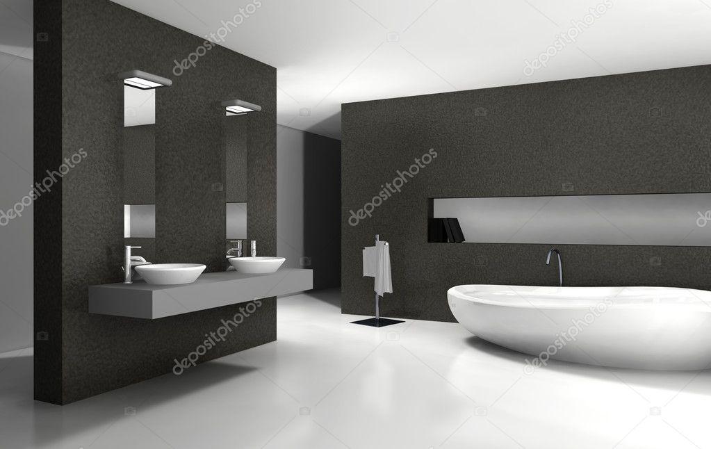 la vita in bianco e nero interni moderni: la vita non ? aspettare ... - Bagni Moderni Bianchi E Neri