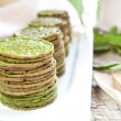 Nettles pancakes — Stock Photo #10700514
