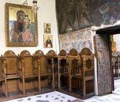 En el interior de una iglesia — Foto de Stock