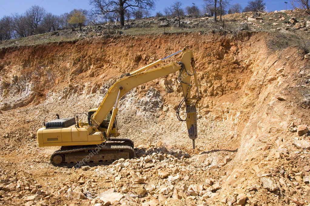 Heavy Duty Construction : Heavy duty construction equipment — stock photo