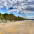 New beach in Thessaloniki Greece — Stock Photo #10316791