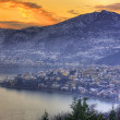 Winter at Kastoria macedonia Greece — Stock Photo