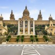 Stock Photo: National Palau of Montjuic, Barcelona