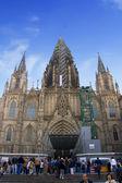 Gothic cathedra — Stock Photo