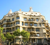 La Pedrera, Antoni Gaudi — Stock Photo
