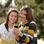 dwie młode kobiety — Zdjęcie stockowe