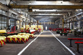 Interior of a factory — Stock Photo