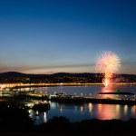 Постер, плакат: Fireworks at Douglas Bay Isle of Man