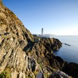 Douglas Lighthouse with Cliffs — Stock Photo #9783457