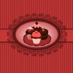 Cupcakes vintage — Stock Vector #9474768