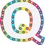 Letter q — Stock Vector #10426422