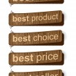 Best sale banners — Stock Vector